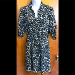 NWT New York & Company Floral Dress Size: XS